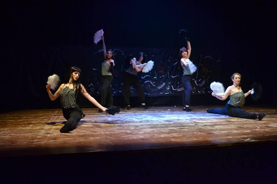 Gestualità femminile e portamento salsa cubana 2014 spettacolo